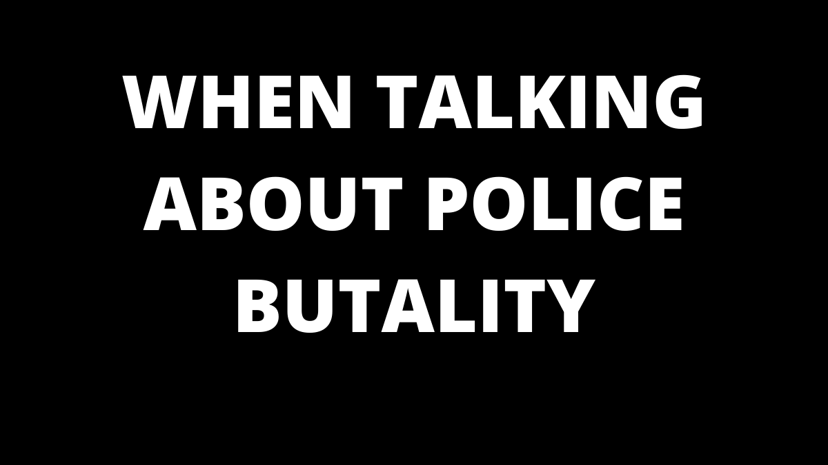 Talking About Police Brutality Online